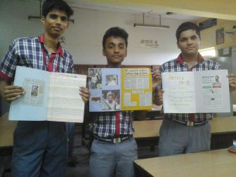 NEWSPAPER ARTICLES BY STUDENTS