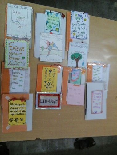 BOOKMARKS MADE BY STUDENTS